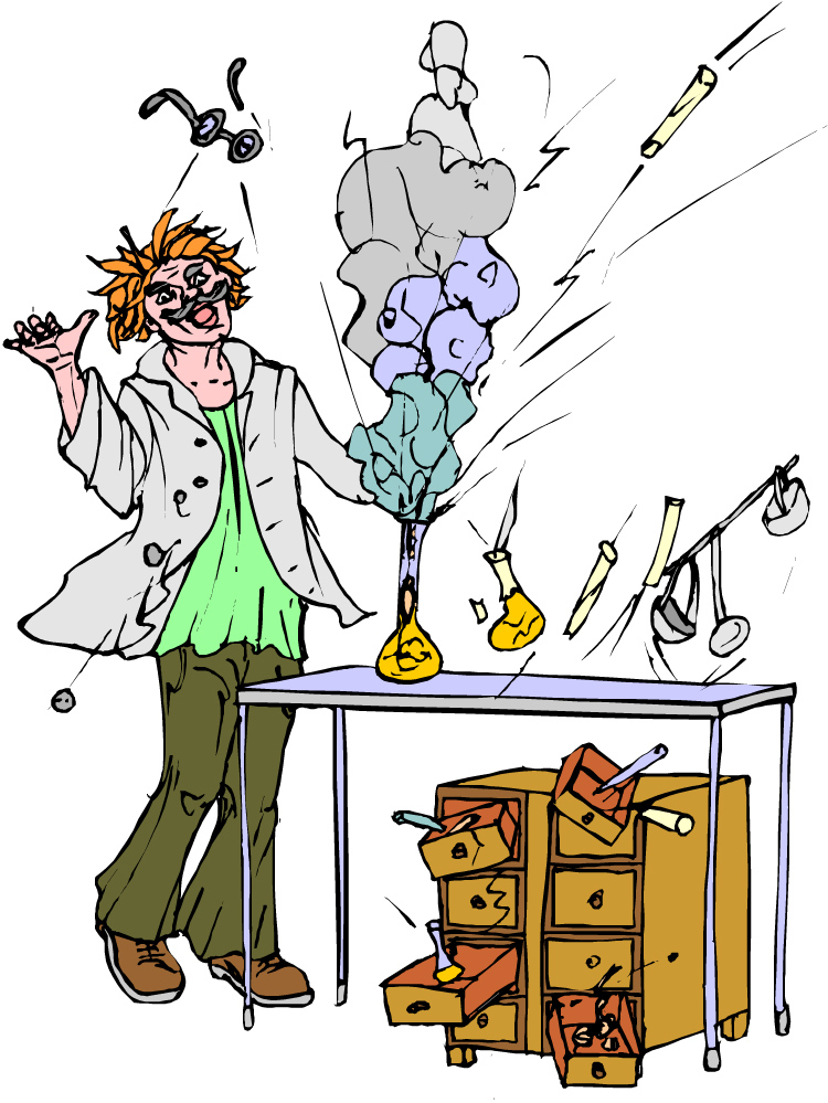 750x999 Laboratory Clipart Chemical