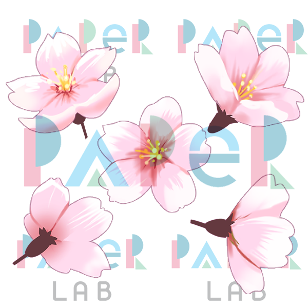 600x600 Cherry Blossom Clip Art By Bloodink6