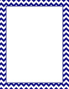 236x305 Printable Turquoise Chevron Border. Free Gif, Jpg, Pdf, And Png