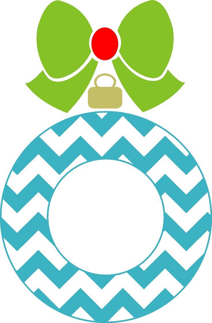 736x1122 Christmas Ornaments Clipart Chevron