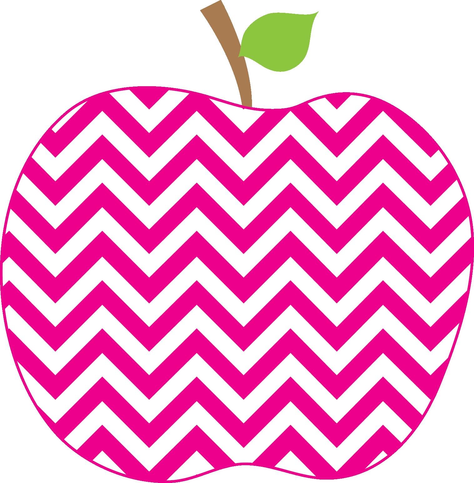 1516x1546 Apple Clipart Cute Chevron