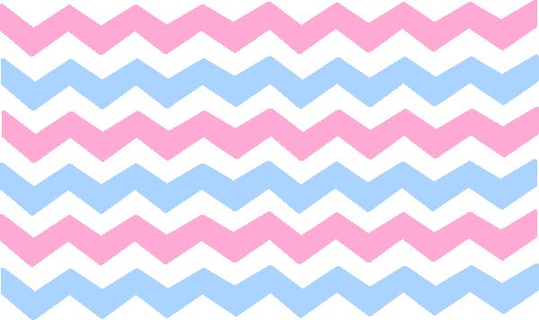 600x356 Pink Blue Chevron Clip Art