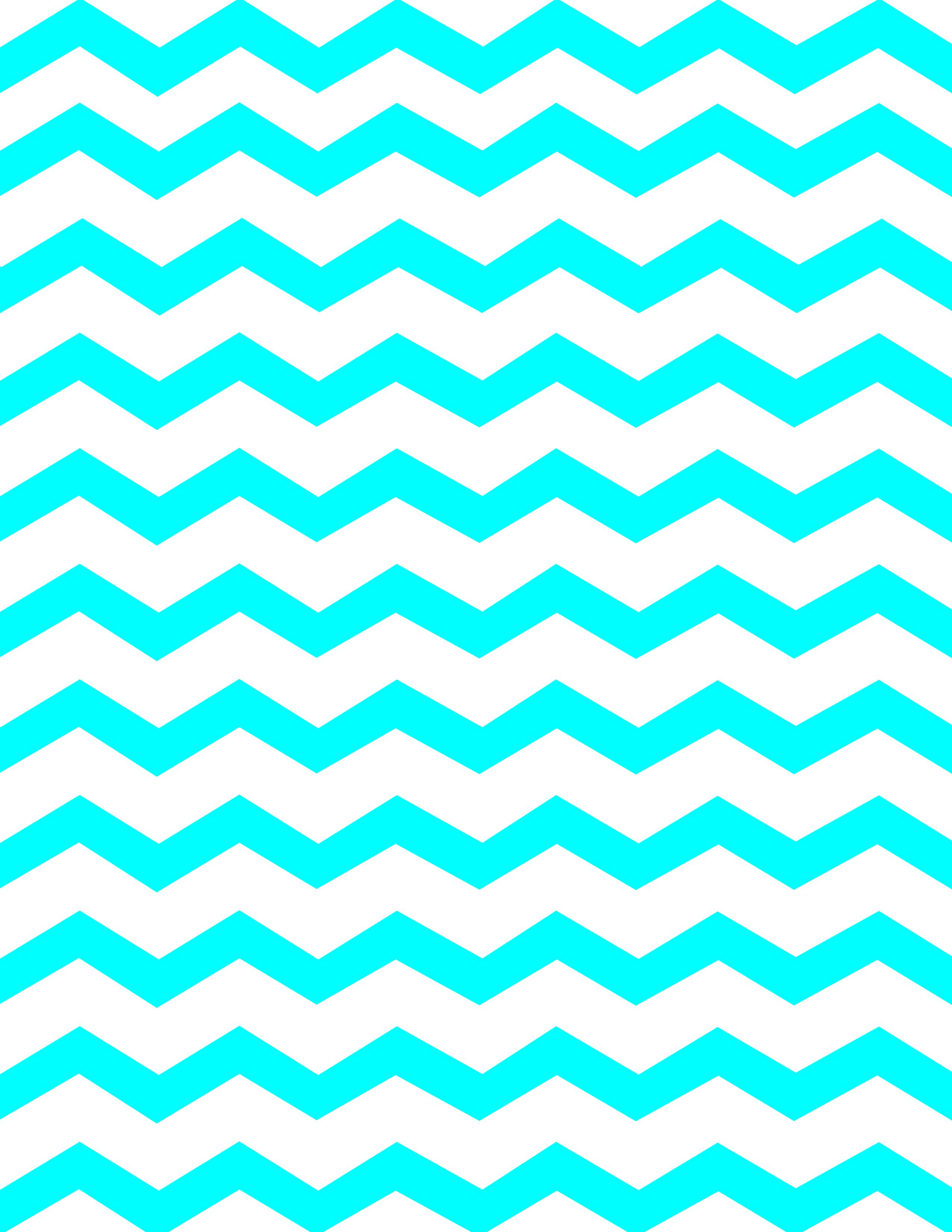 2550x3300 Turquoise Clipart Chevron