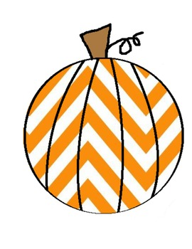270x350 Chevron Pumpkin Clipart