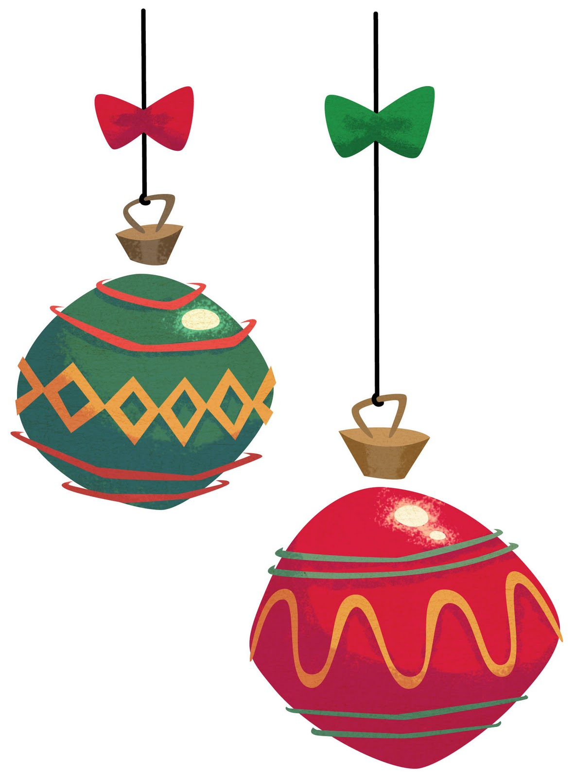 1181x1600 Christmas Ornaments Clipart Chevron
