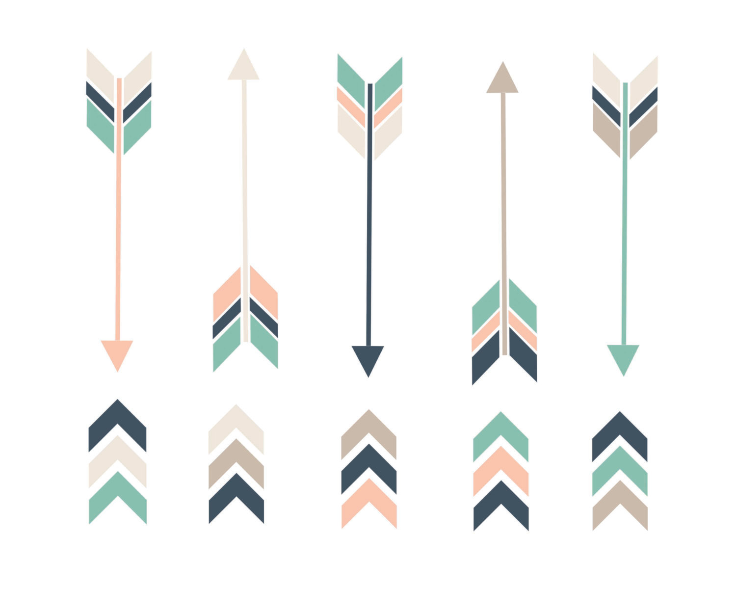 1500x1200 Drawn Arrow Chevron