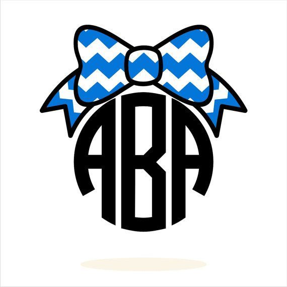 570x570 And White Chevron Bow Clipart