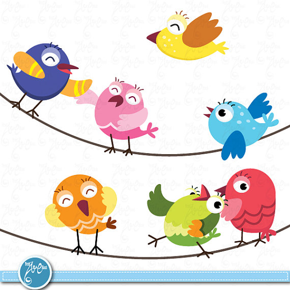 570x570 Bird Clipart Chevron