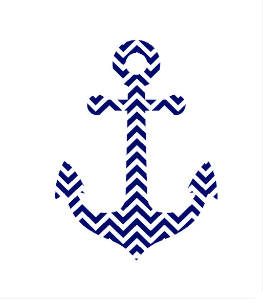 514x584 Chevron Anchor Clipart