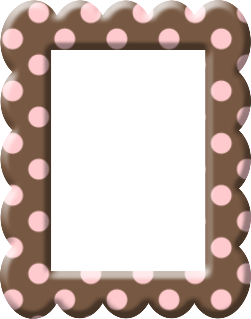 806x1024 Frame Clipart Chocolate