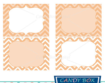 340x270 Mint Label Clipart Green Chevron Digital Frame Clip Art