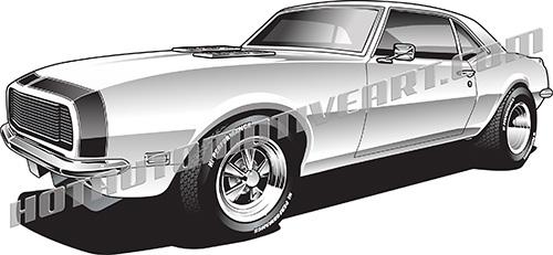 Chevy Camaro Cliparts