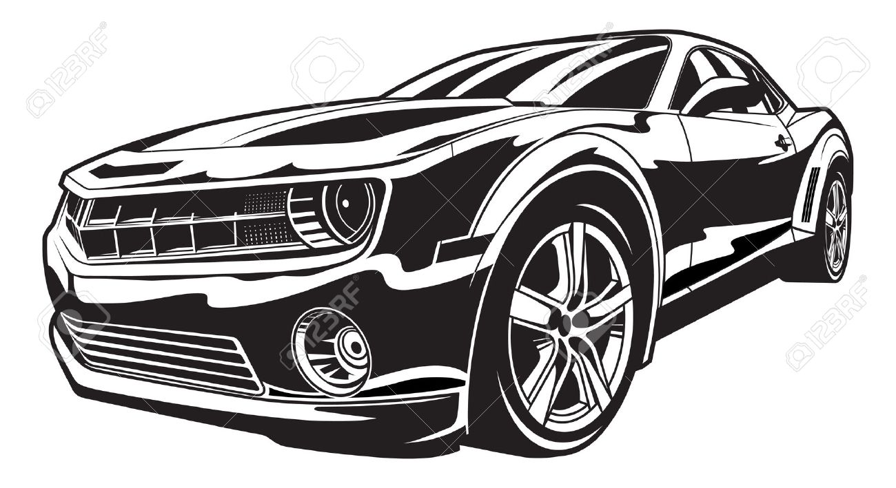 Chevy Camaro Cliparts Free Download Best On 1957 Truck Clip 1300x709 Ss Royalty Vectors And Stock Illustration