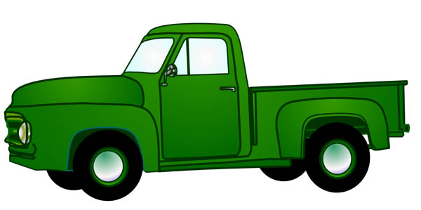 600x299 Pickup Truck Clipart Amp Look At Pickup Truck Clip Art Images