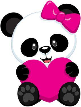 Chibi Panda Clipart