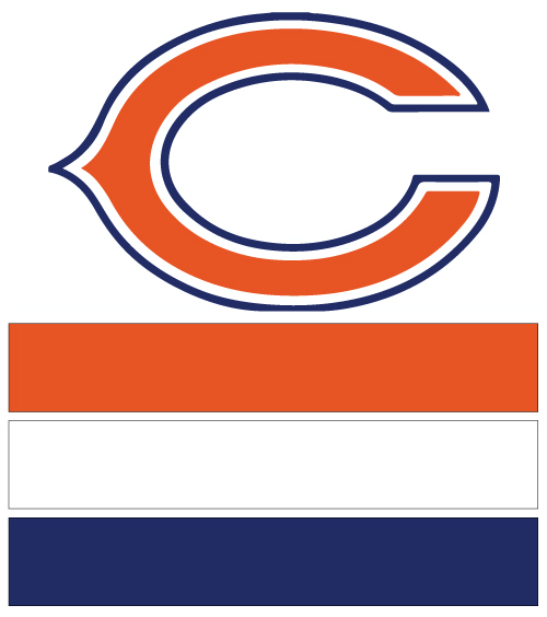 Chicago Bears Nail Designs