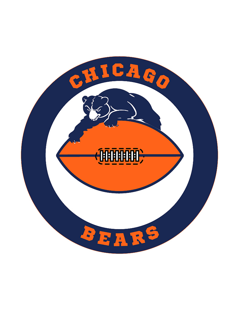 791x1024 Chicago Bears Clipart Many Interesting Cliparts