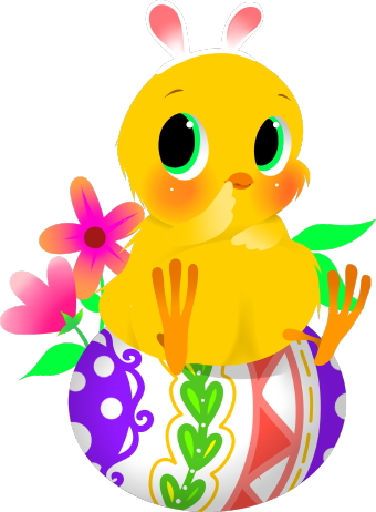 340x462 Easter Chick Clip Art
