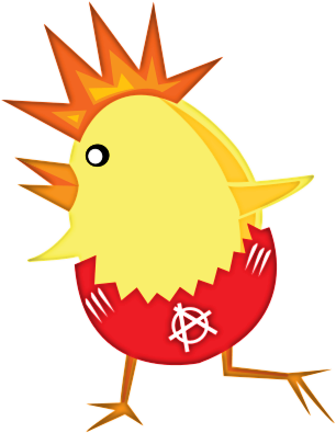 306x395 Free Easter Chick Clipart