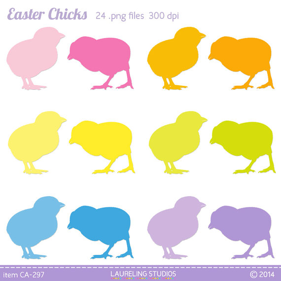 570x570 Easter Chick Clipart, Chicken Silhouette, Easter Clip Art, Farm