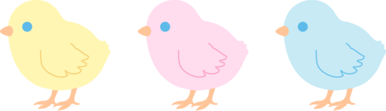 550x159 Cute Clipart Baby Chick