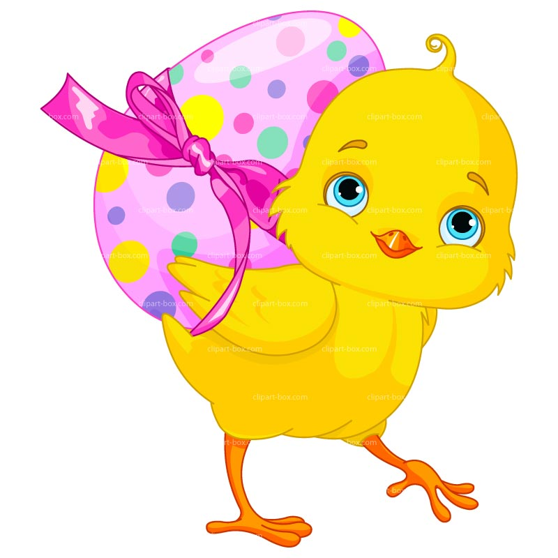 800x800 Easter Chicken Free Clipart