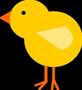 273x298 Yellow Baby Chick Clip Art