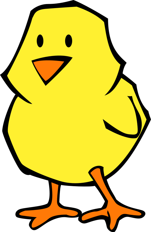 519x800 Chick Flat Colors Free Vector 4vector