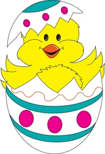 206x300 Free Easter Chick Clipart Clipart