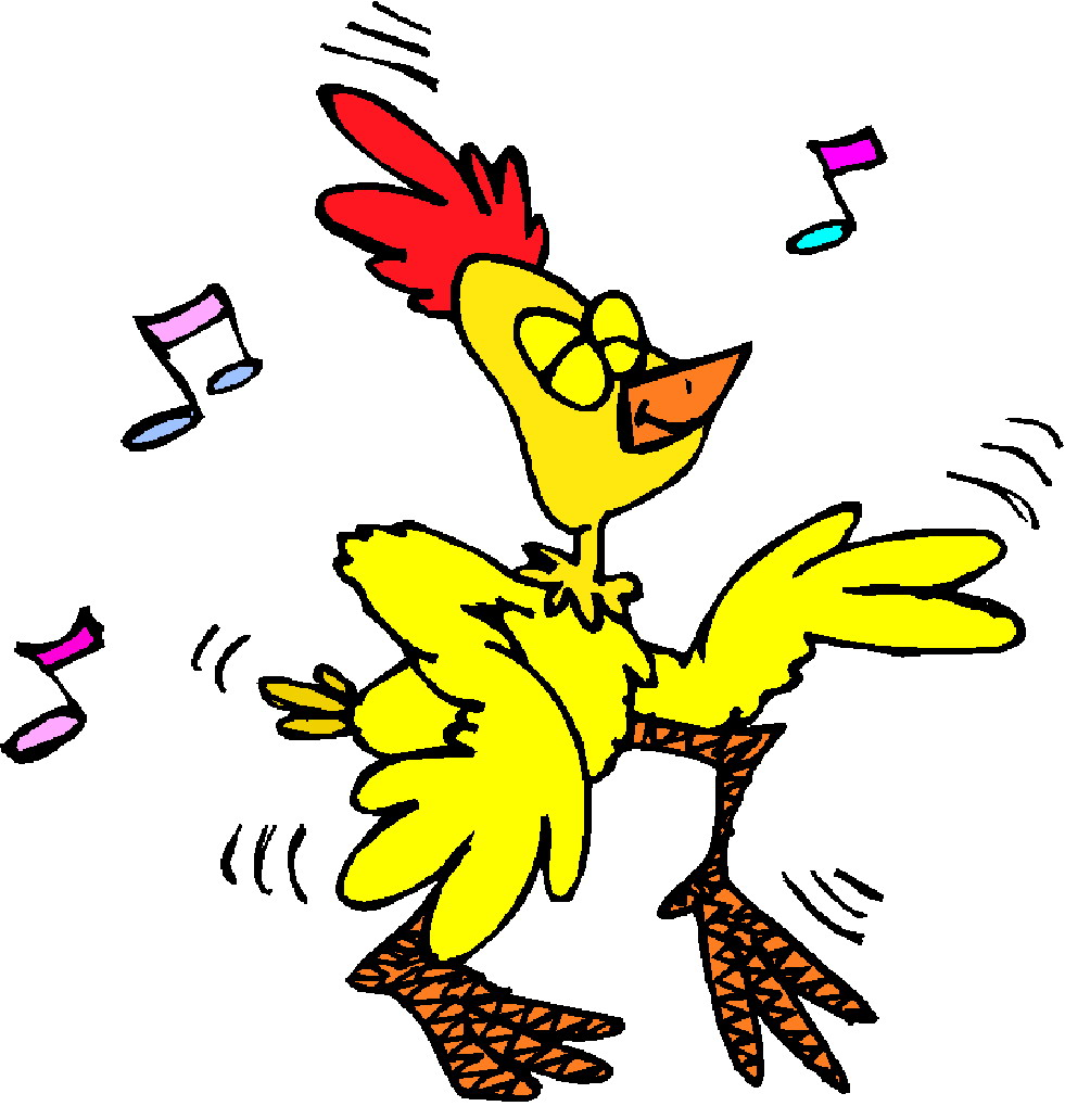 981x1019 Chicken Dance Cliparta
