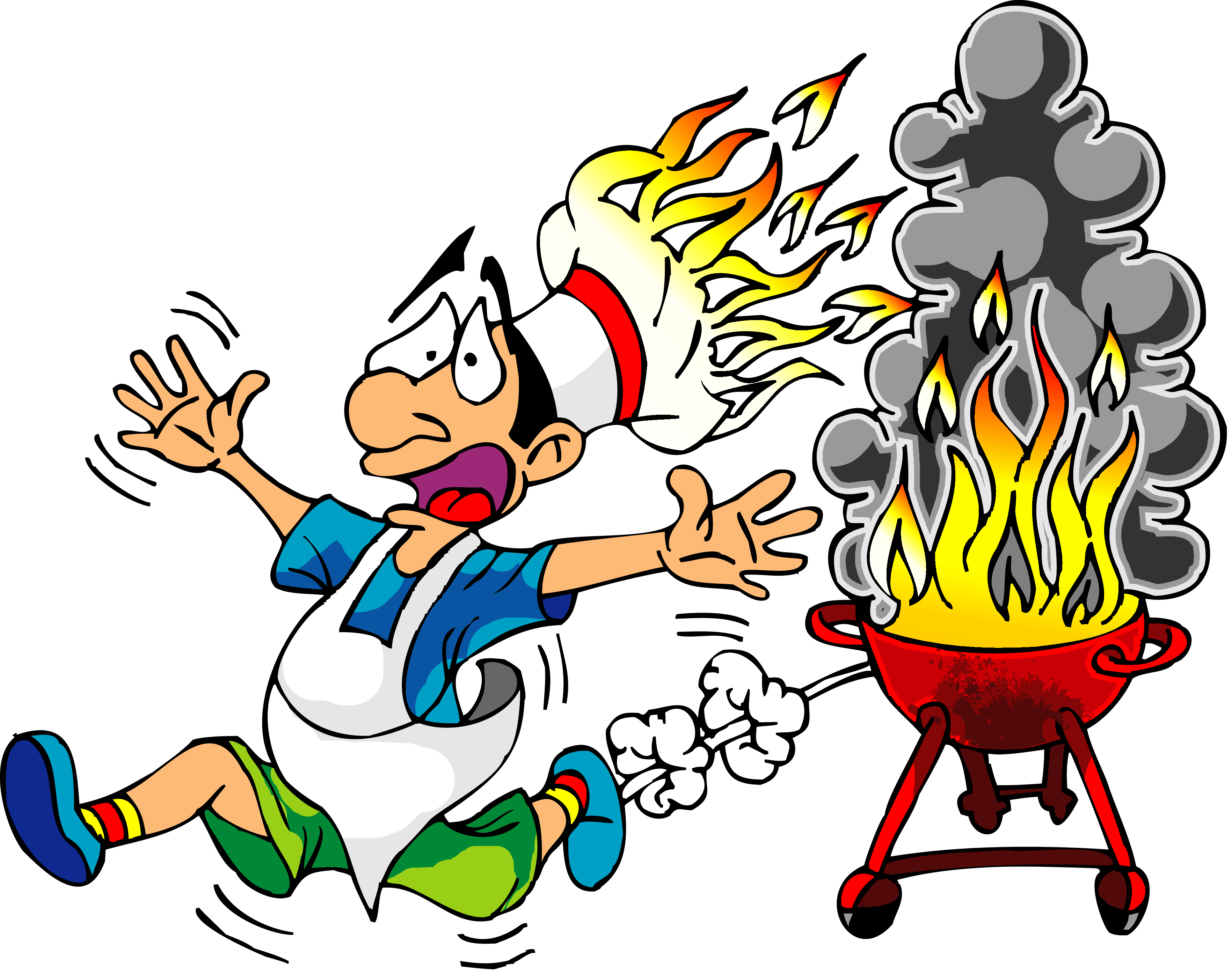 3527x2793 Free Bbq Clipart Images