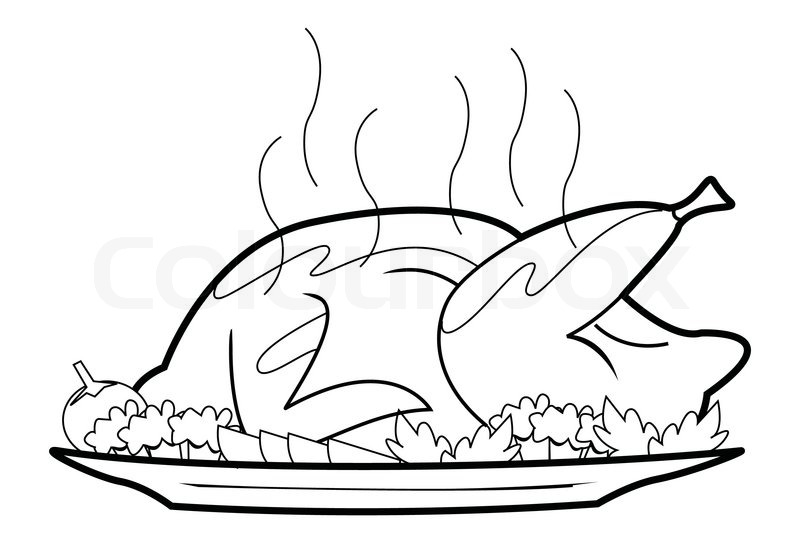 800x543 Black And White Cooked Rice Clipart