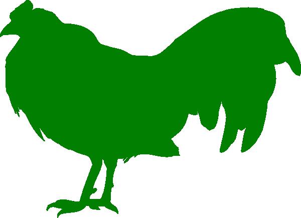 600x435 Green Chicken Clip Art