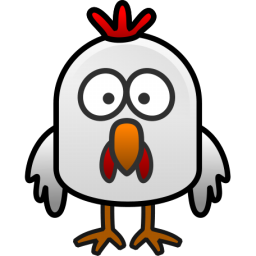 256x256 Chicken free to use clip art 2 –