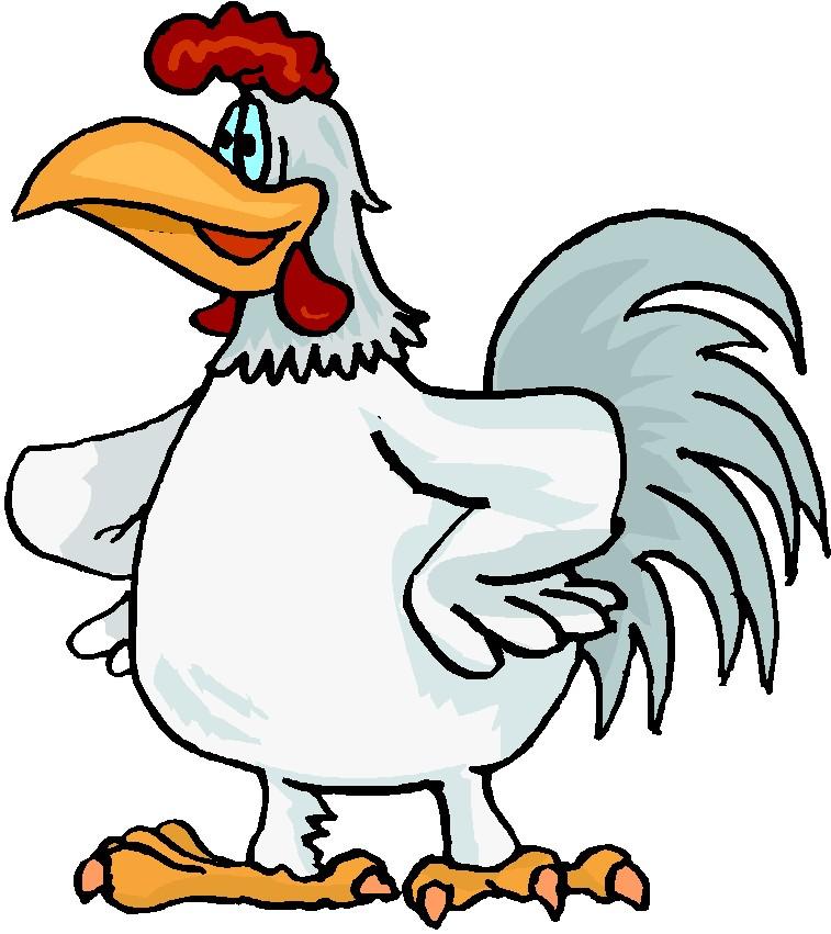 757x851 Chickens clip art