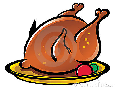 400x309 Cooked Chicken Clipart