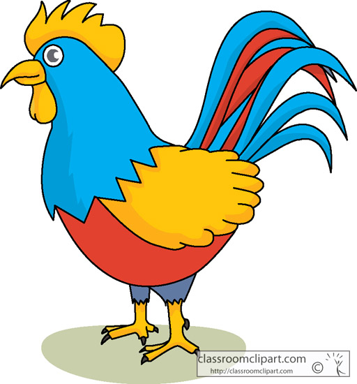 512x550 Rooster Clip Art