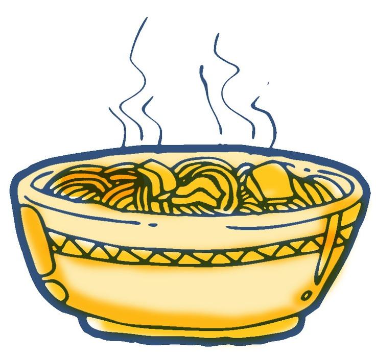 736x699 Noodle Dinner Clipart