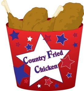 275x300 This Is A Clipart Illustration Of A Bucket Of Fried Chicken