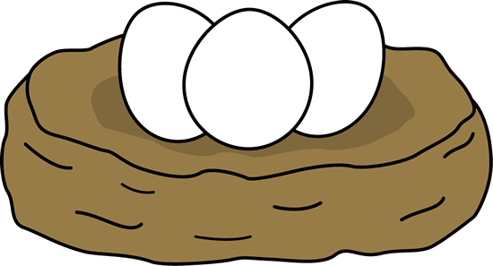 550x297 Bird's Nest Clipart Chicken Nest
