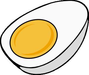 300x253 Half Egg Clip Art