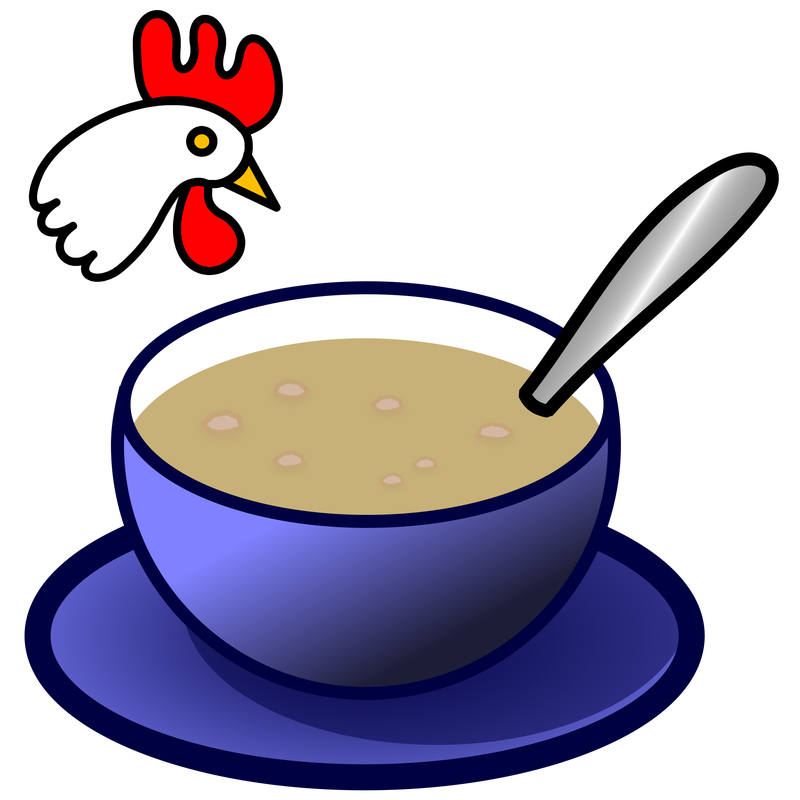 800x800 Chicken Soup Clipart Hot Food