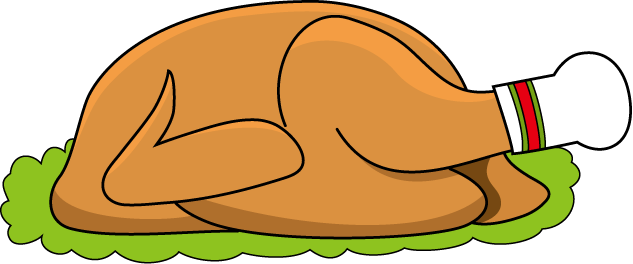 633x264 Chicken Leg Chicken Meat Clip Art