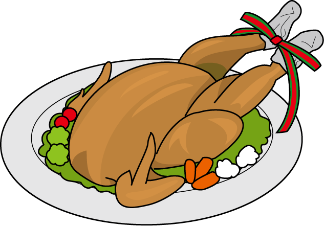 633x442 Plate Chicken Clipart, Explore Pictures
