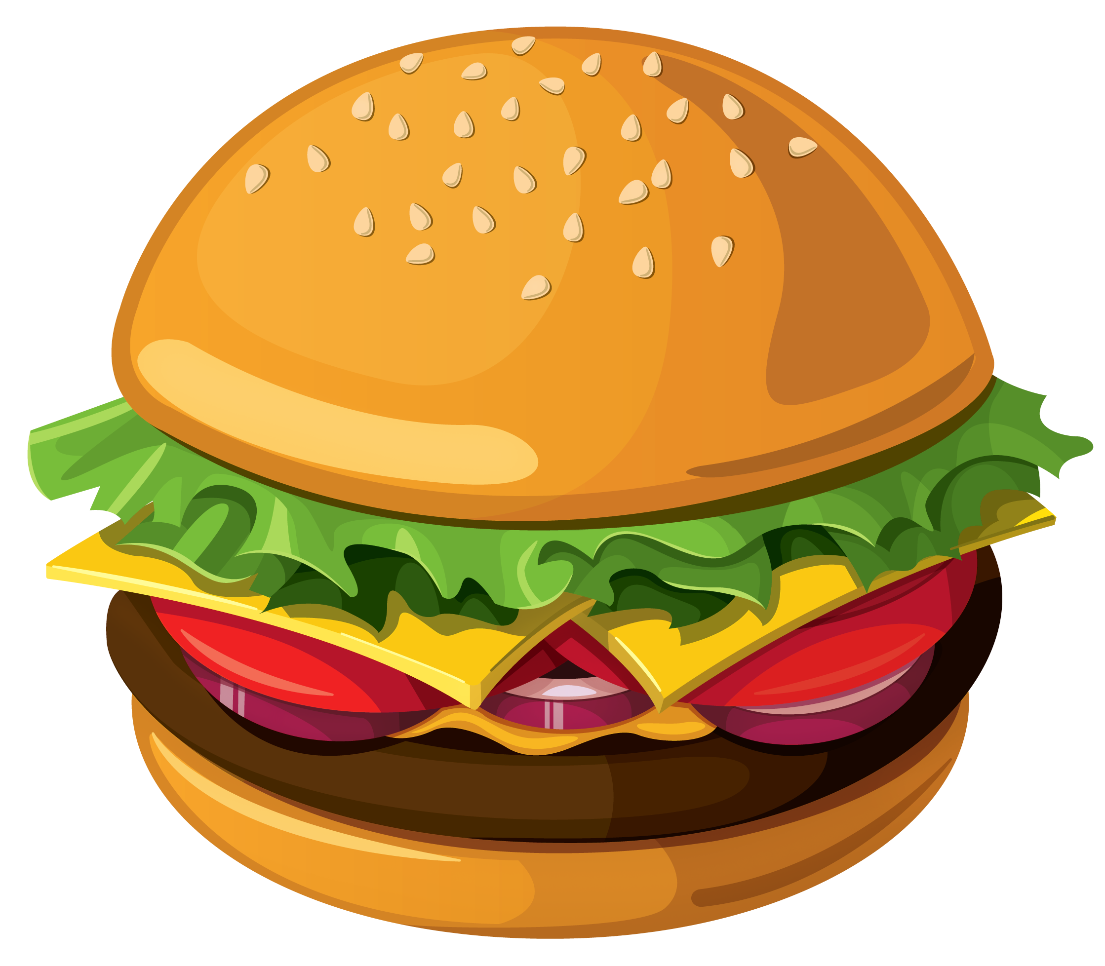 2238x1957 Burger Clipart Chicken Sandwich