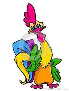 236x314 Cartoon Chickens