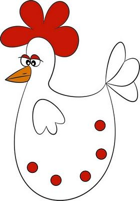 Chicken Graphics Clipart