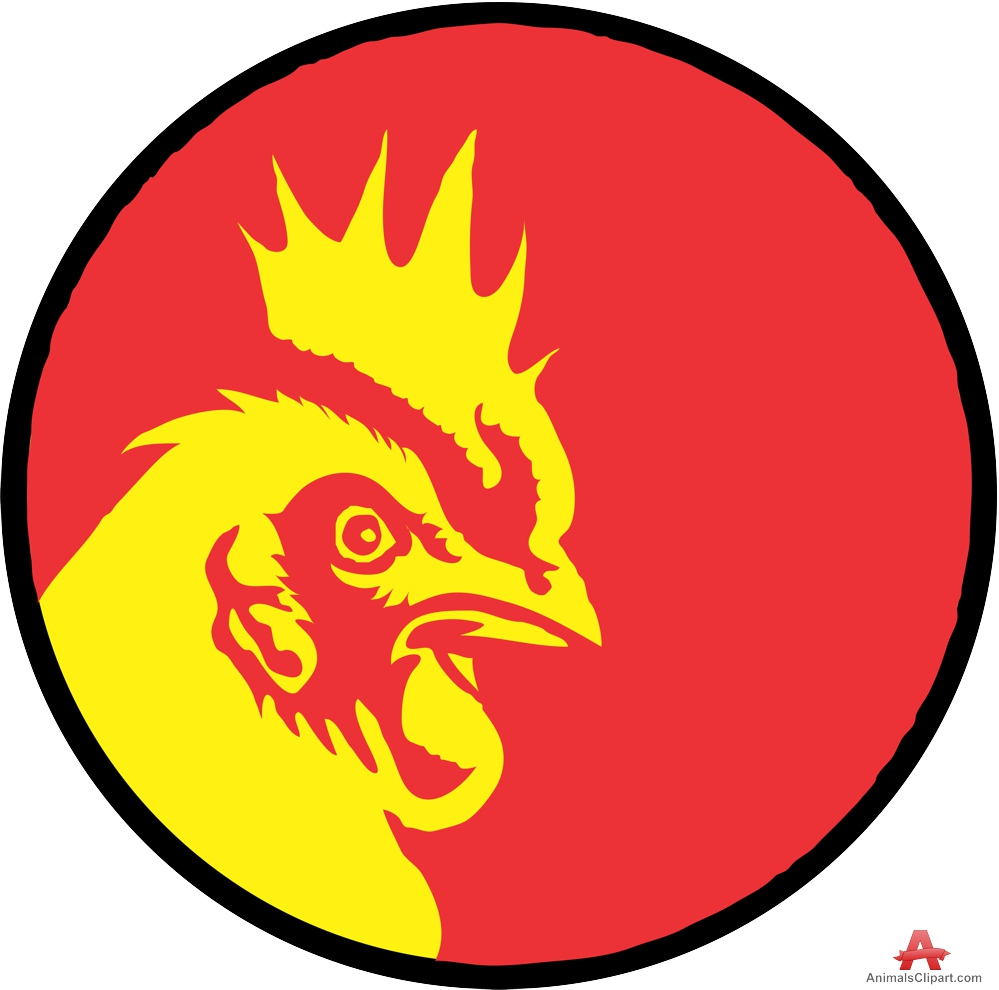 999x990 Chicken Head Logo Free Clipart Design Download