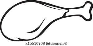 300x149 Chicken Drumstick Clip Art Illustrations. 963 Chicken Drumstick