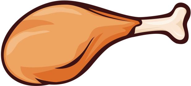 618x277 Chicken Leg Clipart 2